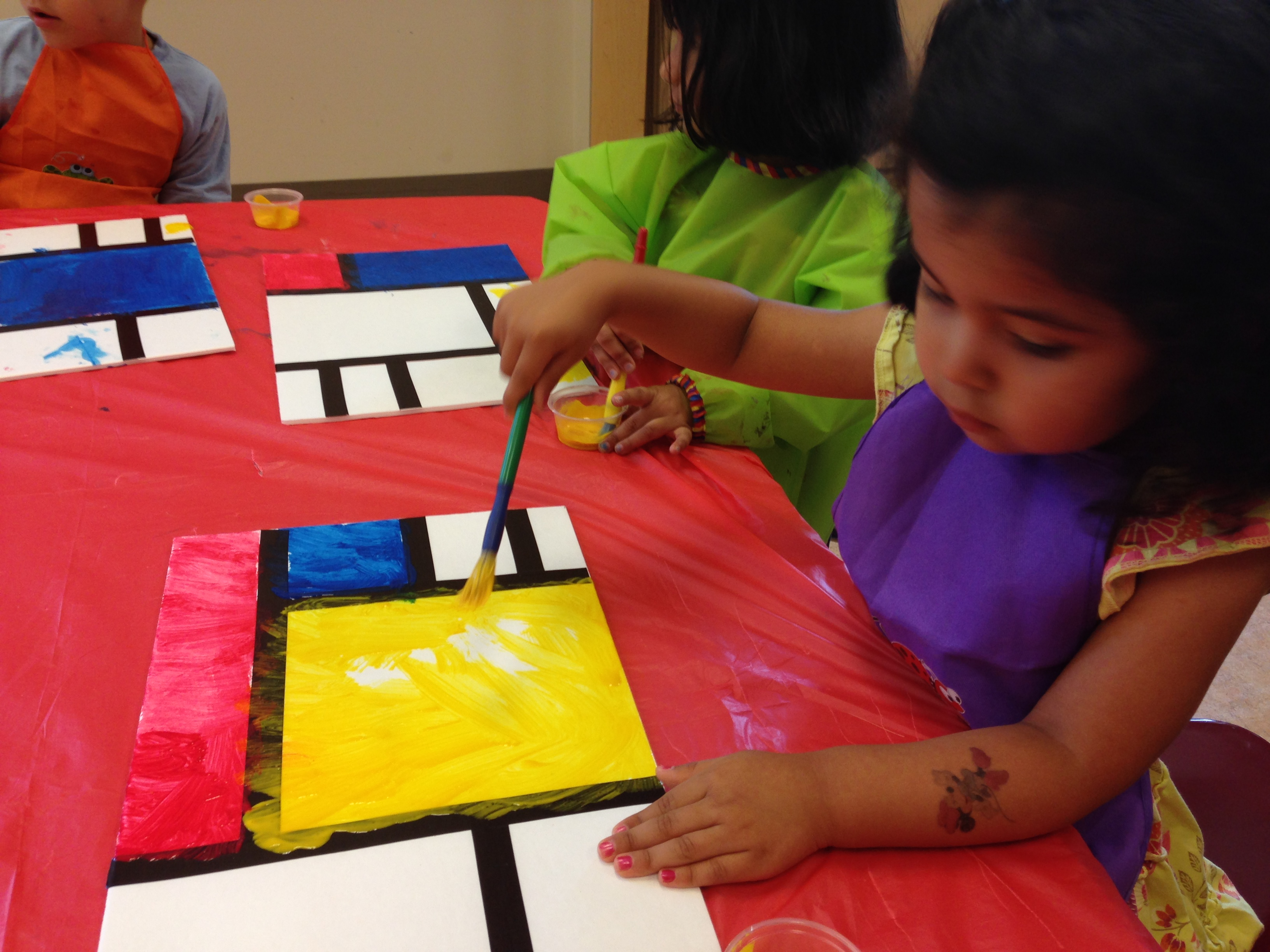 Art Spanish Immersion summer camp